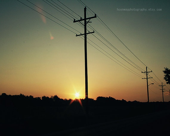 Sunrise Photo Summer Vintage Photography by HConwayPhotography, $45.00