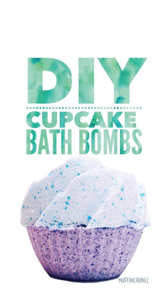 These are the cutest cupcake bath bombs I've seen on Pinterest.  Love it! DIY MuffinChanel