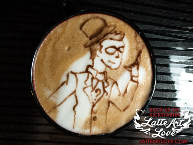 Latte Art - Riddler