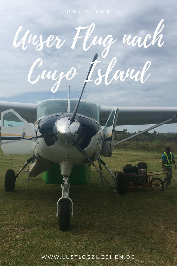 Von Puerto Princesa nach Cuyo Island. Eine kleine Propeller Maschine mit 12 Sitzen und eine Stunde Flug bis in unser kleines Paradies, Cuyo Island auf den Philippinen. Ein Reiseziel auf den Philippinen, dass noch nicht all zu viele Touristen kennen. Die Ausnahme sind die Kitesurfer, denn dieser Spot ist tatsächlich noch top Secret.