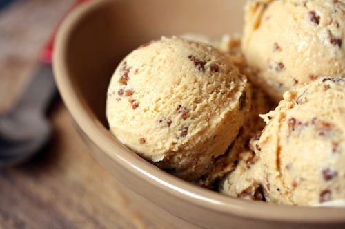 I'm putting the ice cream maker to work this weekend.