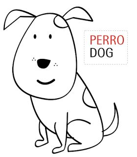 Mejores 44 imgenes de Perros imprimir pintar colorear en