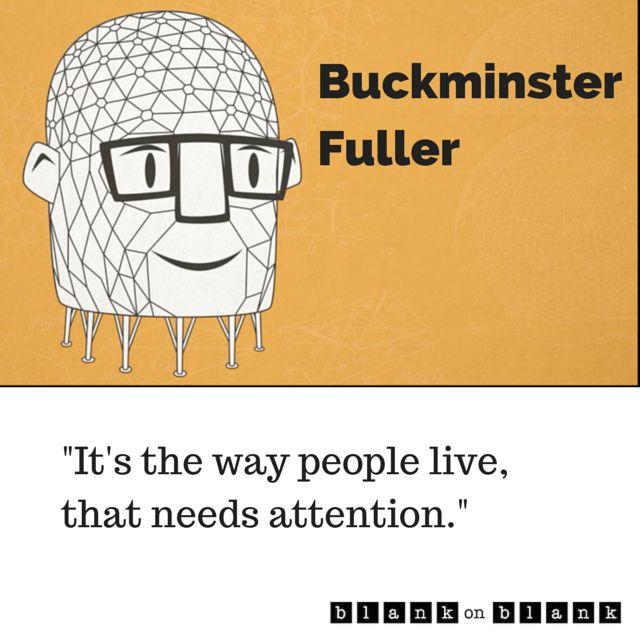 Rara entrevista com Buckminster Fuller sobre a vida geodésica