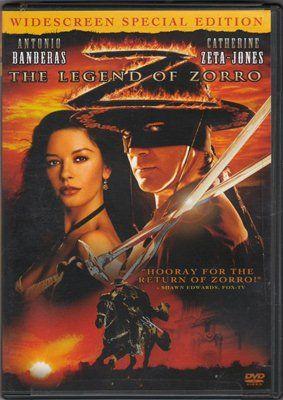 The Legend Of Zorro Widescreen Special Edition Antonio Banderas