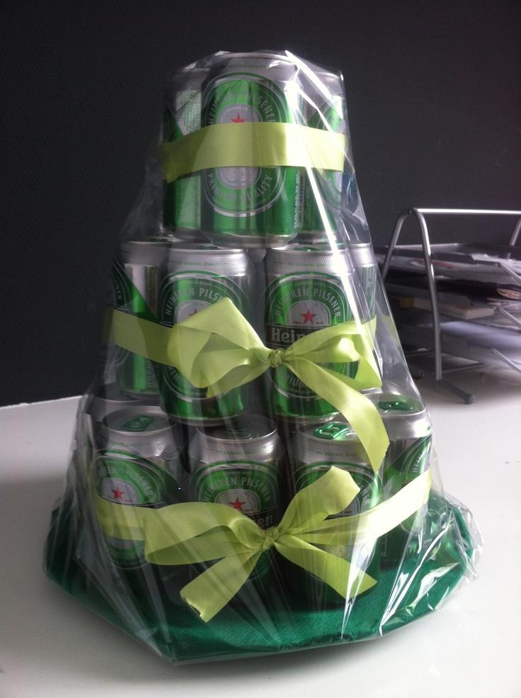 Beer Gift Men Present Heineken Diy And Gift Ideas