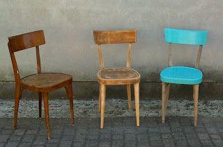 Il piccolo FantaMondo: Restyling di vecchie sedie...