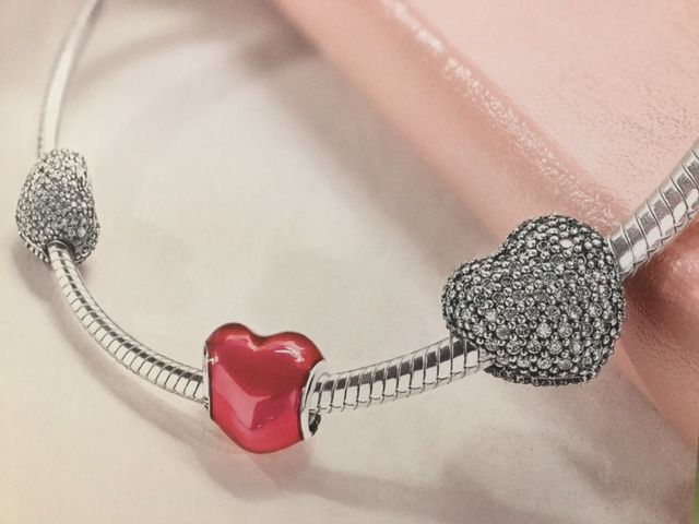 give her your heart this valentines day valentinesday pandora heart bracelet - Pandora Valentine Bracelet