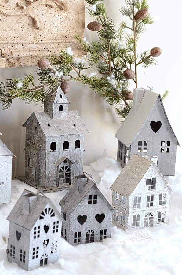 Domiki Diy Holiday Decor Christmas Decorations White Christmas Decor