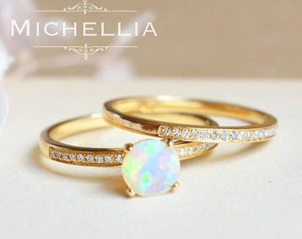1000 Ideas About Opal Engagement Rings On Pinterest