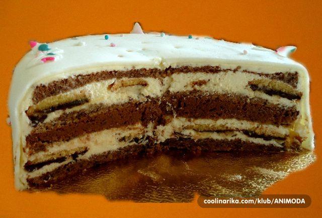 Jaffa torta,presjek