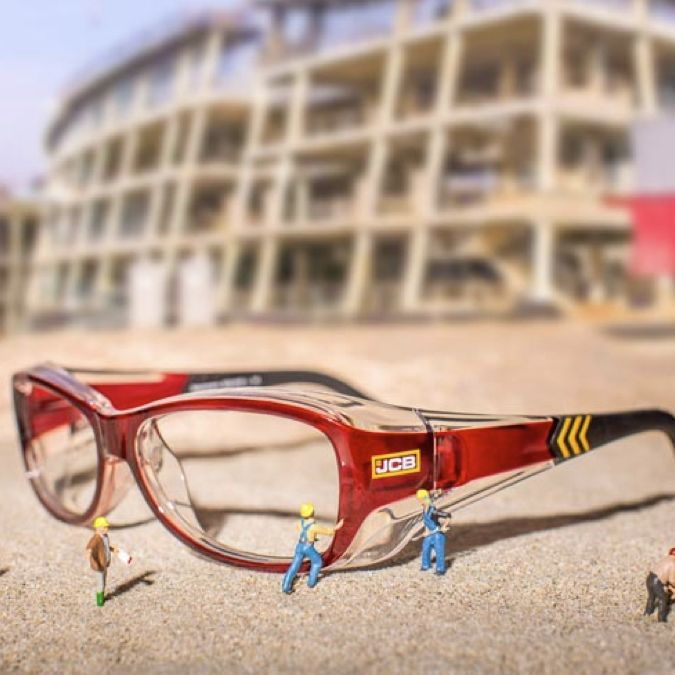 JCB Safety Eyewear at Specsavers on Collaboration Generation – the latest and best in brand innovation