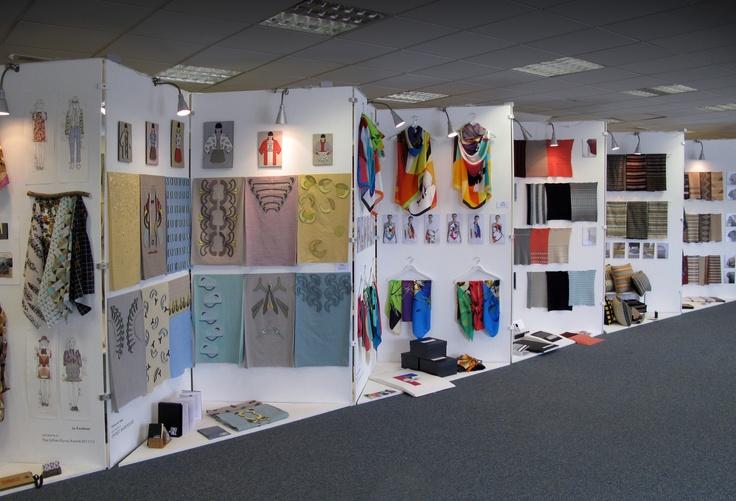 View of the Textiles Degree show 2012    http://www.gsa.ac.uk/m/degree-show-2012/school-of-design-degree-show/fashion-plus-textiles/