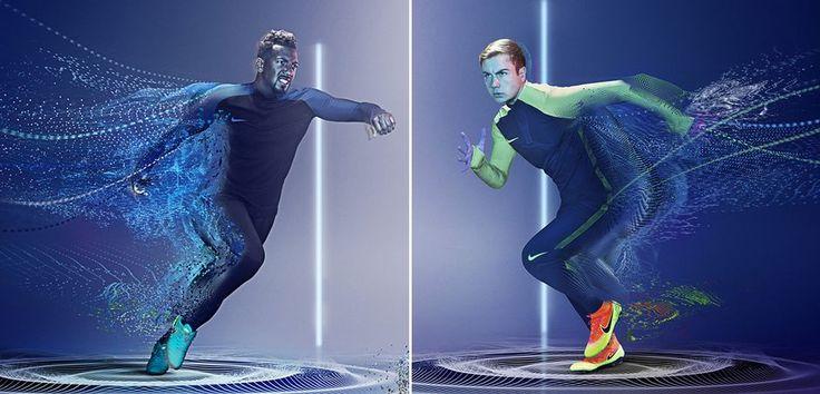 Znalezione obrazy dla zapytania nike blue neon green outfit men