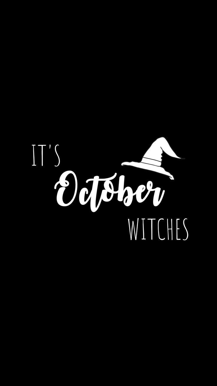 Black Halloween Phone Background