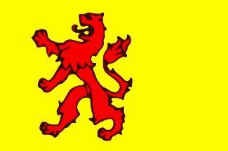 Vlag van provincie Zuid Holland