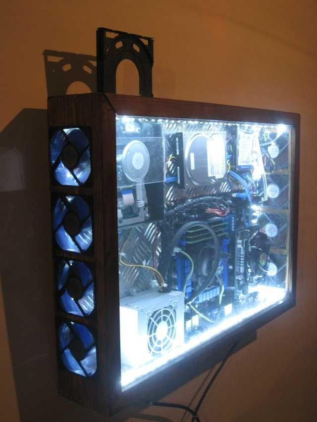 Diy Pc Case Vision Pictures Diy Pc Case Diy Computer Case Custom Computer Case