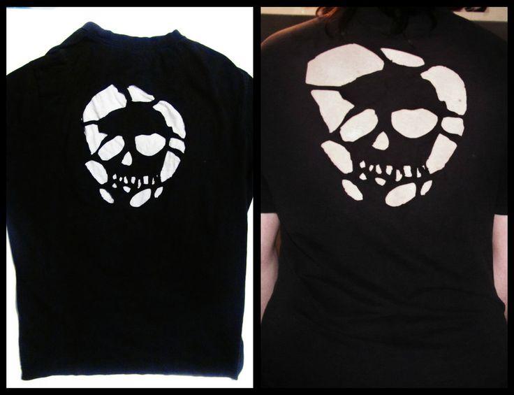 Cut-Out Skull Shirt 2 by emmajory.deviantart.com ...