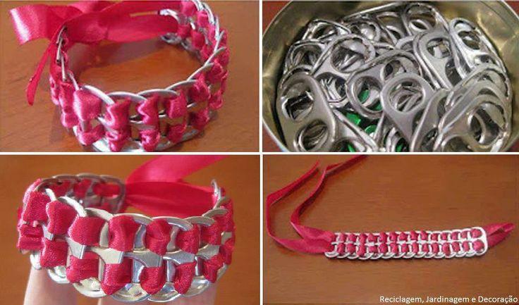 Bracelets and ribbons on pinterest