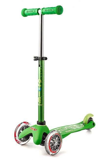 Micro Kickboard Micro Mini Deluxe Green
