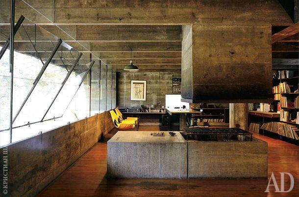Дом-бункер архитектора Паулу Мендеса да Роши