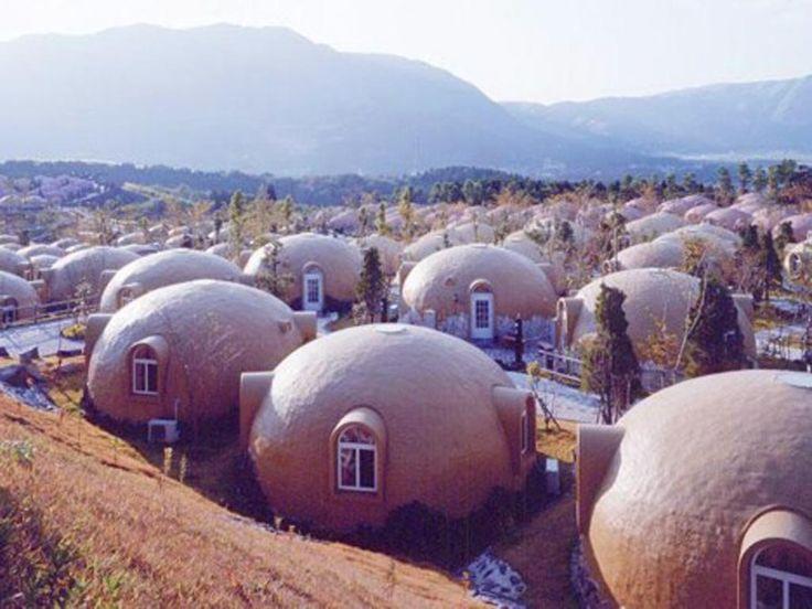 Anti Earthquake Igloo Shaped House Residence