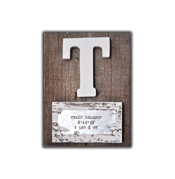 7 best personalized baby gifts images on pinterest babies rooms approximate size x this would make a one of a kind baby gift personalized with the babys name birth date and weight embossed in silver negle Image collections