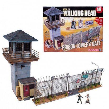 Set de construcción prisión+torre #TheWalkingDead. 620 piezas. Precio: 68,78€. Encuentra merchandising barato de tus series preferidas en nuestra tienda.