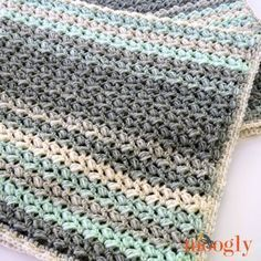 The Dream Puffs Blanket is incredibly squishy, fun to crochet, and a free crochet pattern in 5 sizes for you to make and love on Moogly!