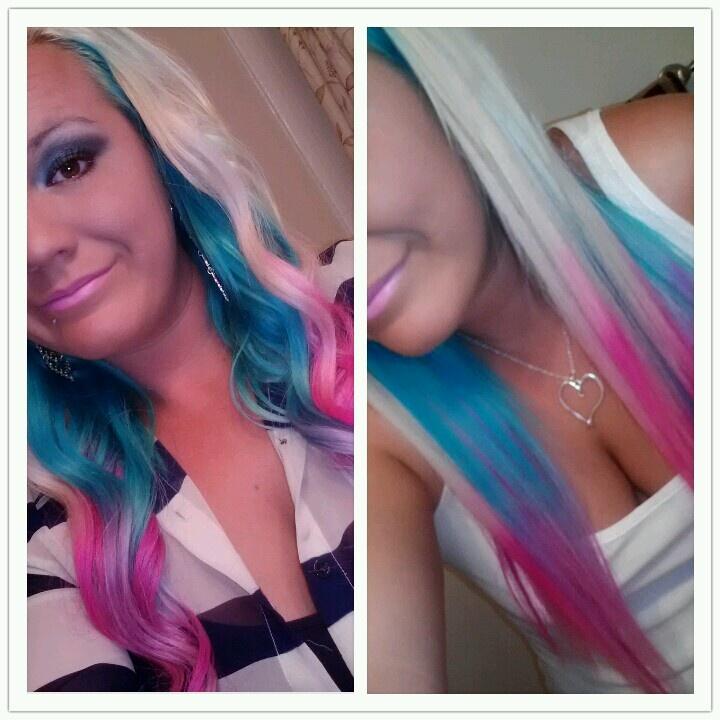 ... hair underneath next style teased hair ombre hair hair dye hair make