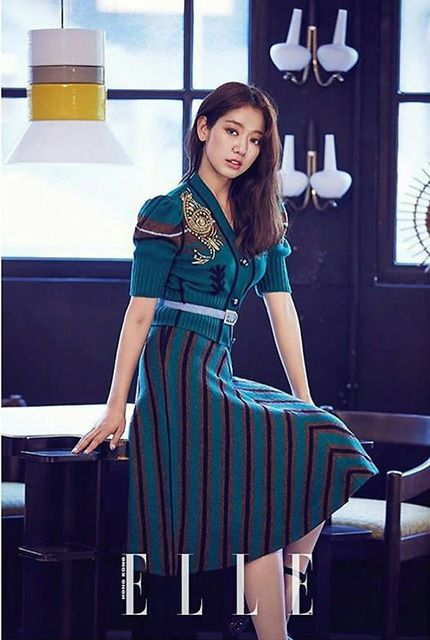 Park Shin Hye Covers August 2017 Elle Hong Kong | Couch Kimchi