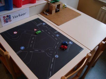 Thema verkeer | Juf Anke lesidee kleuters