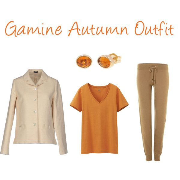 """""""Gamine Autumn Outfit"""" by jeaninebyers on Polyvore"""