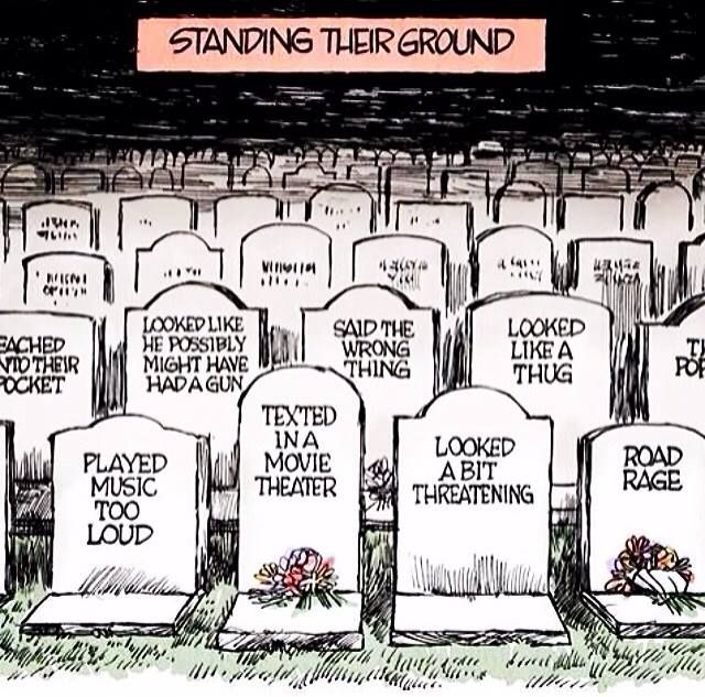 Michael Drejka Florida Stand Your Ground Shooter: Standing Their Grounds
