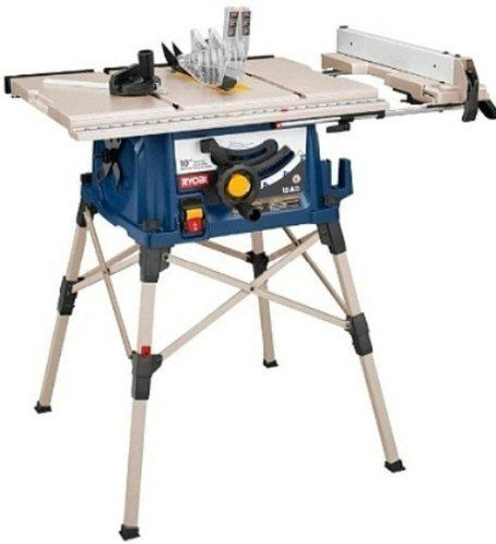 Factory Reconditioned-RYOBI ZRRTS20 15 Amp 10-Inch Portable Table Saw with QuickSTAND - The RYOBI 10 inch Portable Table Saw with QuickSTAND is the top unit of its kind. This tool is perfect for the cost-conscious pro and comes fully loaded with the