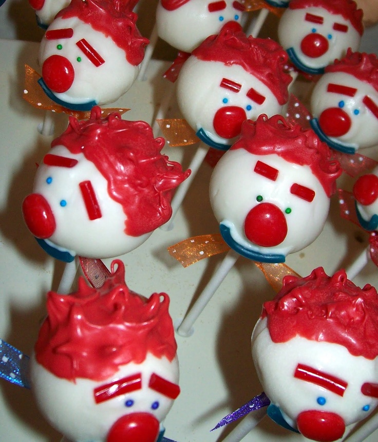 Cake Pop Fusion: Send in the Clowns