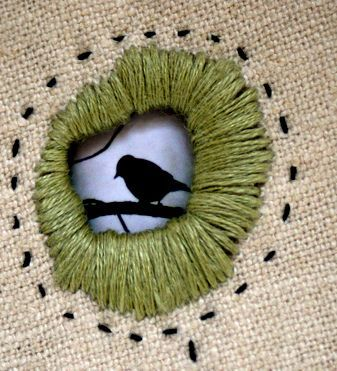 also possible repair idea, Details (eyelet embroidery) by Rebecca Sower, via Flickr wool