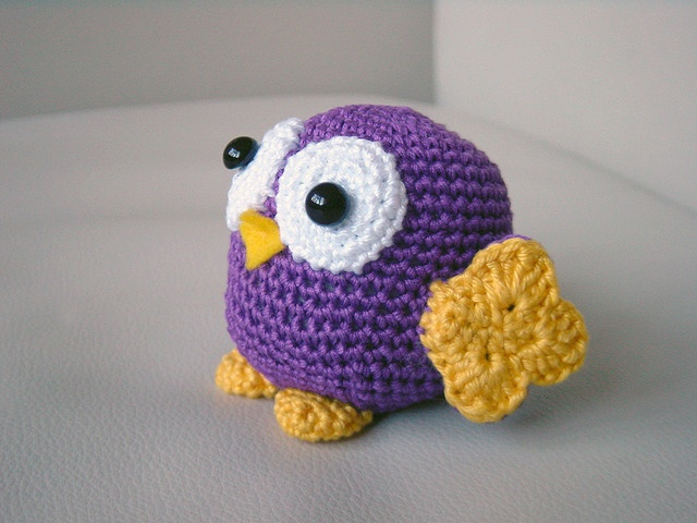 Amigurumi Owl Family : 82 best images about amigurumi birds owls on Pinterest ...
