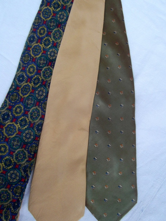 Lot of 3 vintage Altea ties by CHEZELVIRE on Etsy, $12.00
