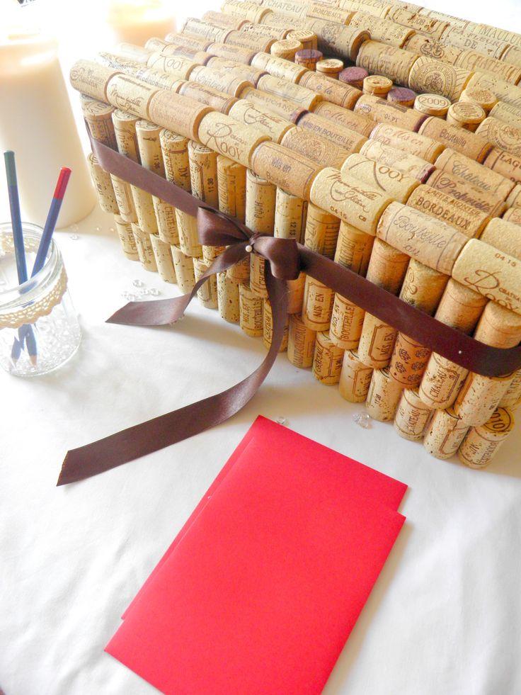 mariage vin   Création de votre urne de mariage : thème vin   L'atelier décos