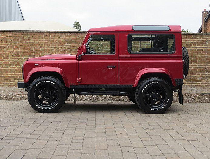 2013 (63) Used Twisted Defender 90 XS   Firenze Red   Land Rover   Pinterest   Land rover defender, Land rovers and Cars