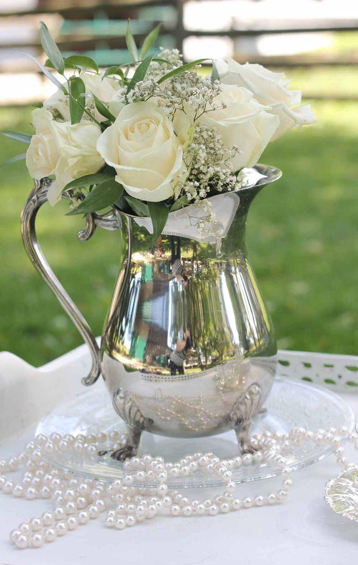 Beautiful water pitcher.
