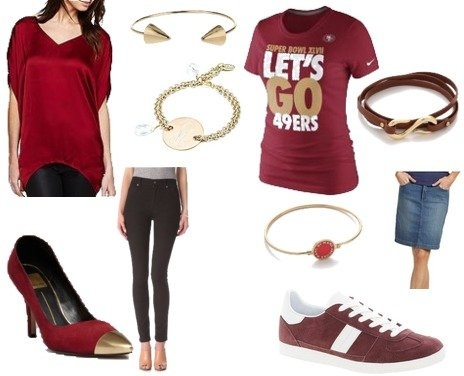 Super Bowl Game Day Fashion: 49ers