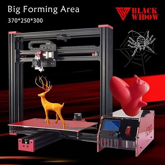 Reposting @sliced3d: Check out this Tevo Black Widow 3D Printer Kit for quality 3D printing which is currently on sale. For specifications, visit https://sliced-3d.myshopify.com/collections/3d-printers-2/products/tevo-black-widow-3d-printer-kit?utm_campaign=crowdfire&utm_content=crowdfire&utm_medium=social&utm_source=pinterest . . . #Sliced3D #3d #3dprint #3dmodel #3dprints #3dprinting #filament #plafilament #3dprinters #3dprinter #3dprintingworld #absfilament #3dfilament #3dprinted…