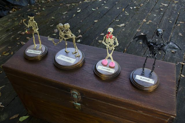Make your own Halloween costume awards. Here are some really neat examples.