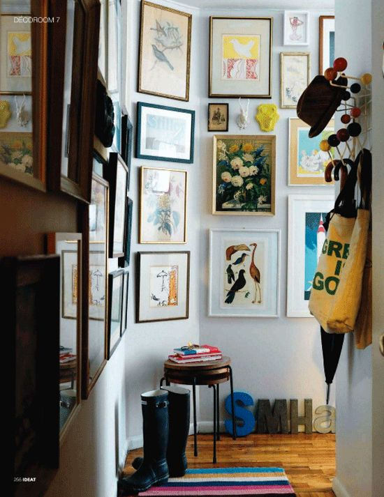 The New York apartment of stylist Marcus Hay Ideat Magazine. Photos by Jonny Valiant.