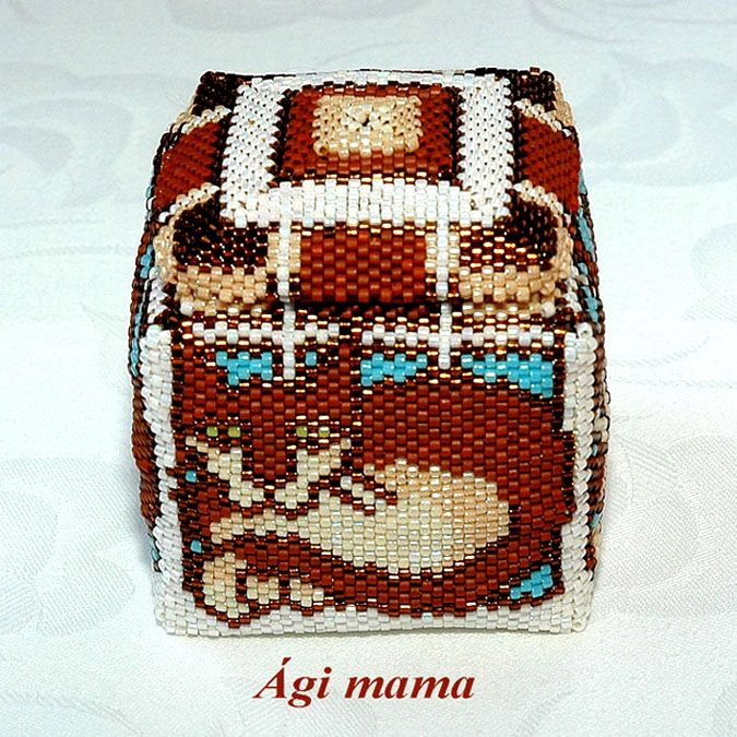 186 Best Images About Beaded Boxes On Pinterest