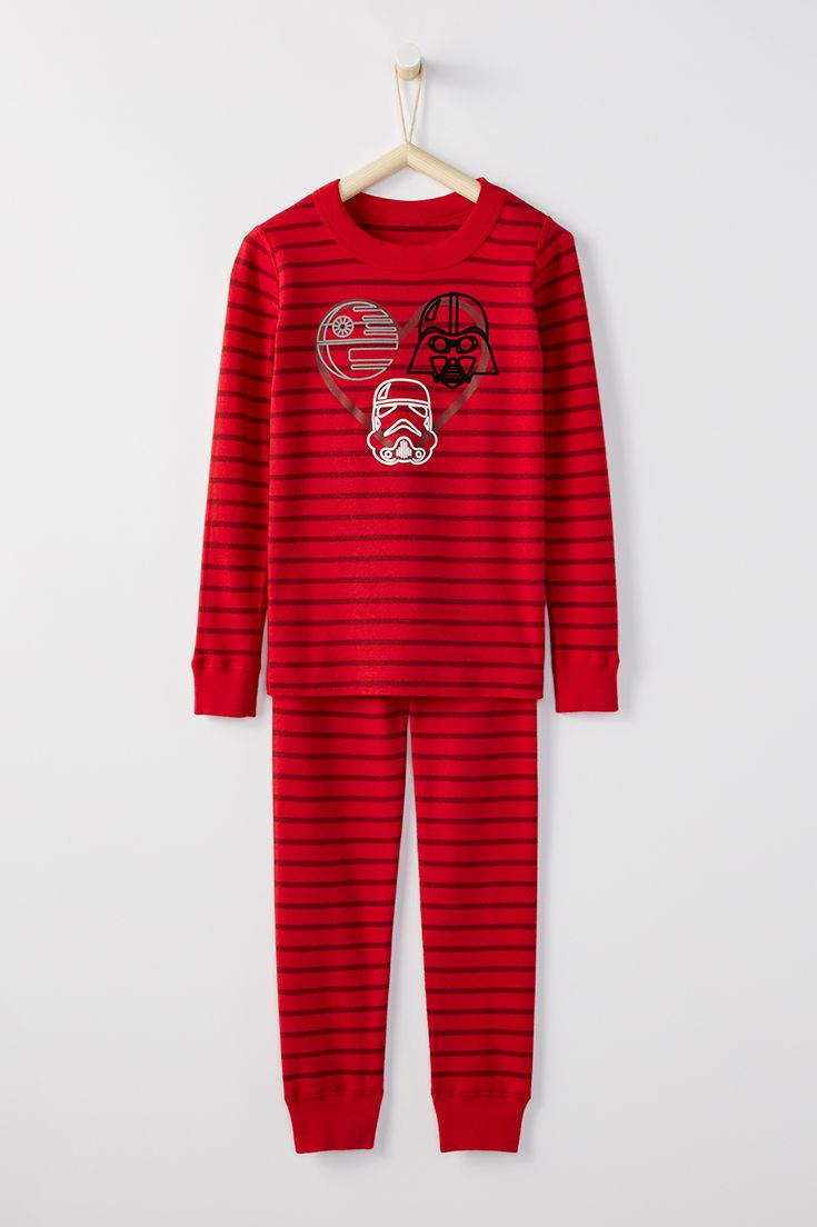 a92fdeb1d231 Star Wars™ Long John Pajamas In Organic Cotton for Kids by Hanna ...