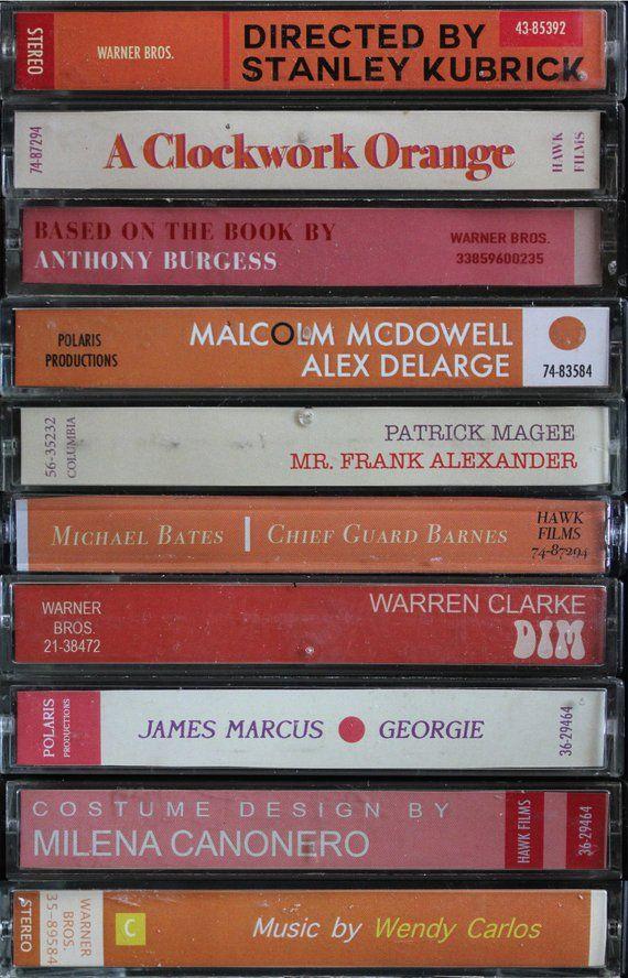 A Clockwork Orange Film As Cettes