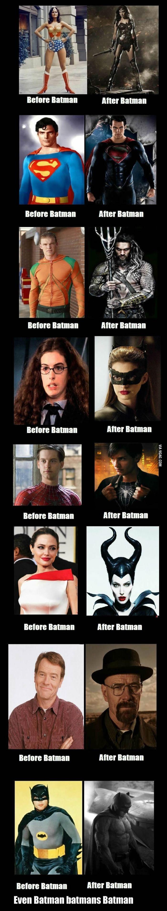 The Batman effect