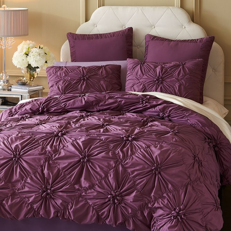 17 Best Ideas About Purple Bedroom Curtains
